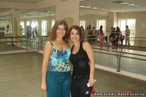 Yasmin baladi : египет танца